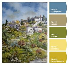 Paint colors from Chip It! by Sherwin-Williams. Picture by Lilian Angelin. ChipCard by Reni Apostolova.