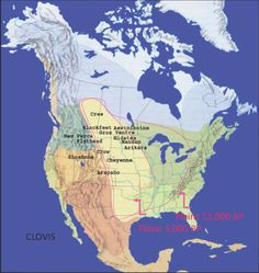 Map Showing the Location of the Great American Plains
