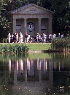 Princess Diana Memorial at her family home Althorp House