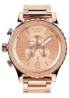 Nixon 51-30 Chrono - All Rose Gold
