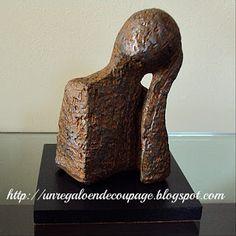 UN REGALO EN DECOUPAGE: Figuras Ziña