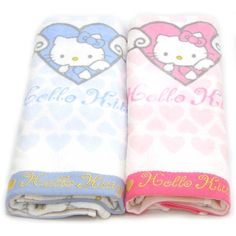 Hello kitty Towel Set 2 pcs 31.5X15.7 100% cotton bath shower Pink... ($23) ❤ liked on Polyvore featuring home, bed & bath, bath, bath towels, cotton bath towels, hello kitty bath towel, hello kitty and hello kitty towel set