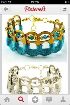 Homemade DIY bracelet