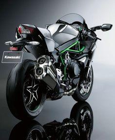 new Kawasaki's H2, 200 horsepower road bike