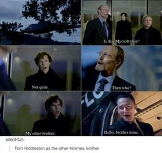 YES PLEASE!!<<<This would be AWESOME!!! \\ Sherlock \\ Tom Hiddleston