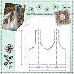 tutorial-sewing by AnnaDrai*Craft, Sewing Hacks, Sewing Tutorials, Sewing Crafts, Sewing Projects, Sewing Patterns, Tutorial Sewing, Handbag Patterns, Diy Purse, Tips & Tricks