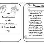 This seven page mini book covers the concept of the United States Constitution for elementary grades. It is a great way to help explain a difficult...