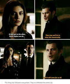 "#TheOriginals 4x06 ""Bag of Cobras"" - Hayley, Klaus and Elijah"
