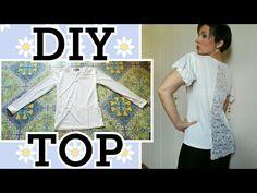 Come allargare una MAGLIA e trasformarla in un TOP TRENDY - Tutorial by Diana Toto - YouTube