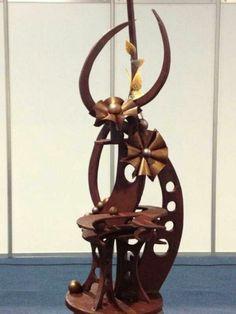 Chocolate art. http://www.hebertcandies.com/