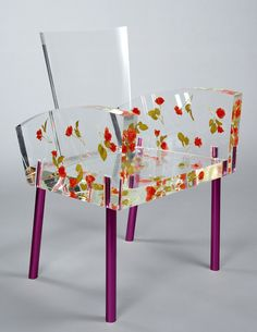 Shiro Kuramata - Miss Blanche Chair, 1988 w3