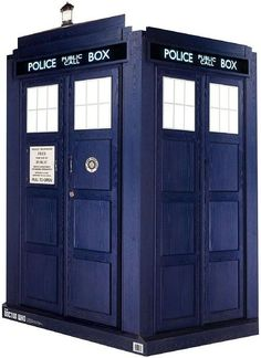 TARDIS STAND UP DR WHO PARTY PHOTO PROP 7 FT CARDBOARD DISPLAY 3D Collectible