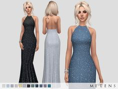 Kate Dress by Metens at TSR • Sims 4 Updates