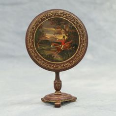 Natasha hand painted miniature tilt top Regency table