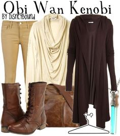 This site has outfits inspired by Star Wars characters.  :)