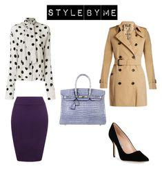 """Look #1"" by elufimova-elena on Polyvore featuring мода, Natasha Zinko, Burberry, Hermès, WearAll, Manolo Blahnik и fashionset"