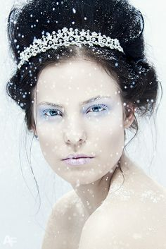 Fairytale fashion fantasy / karen cox. Once upon a time.  snow queen | Snow Queen | Flickr - Photo Sharing!