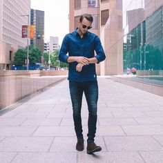 check out the 5 slimming style rules every guy should follow.  #mens #fashion #style
