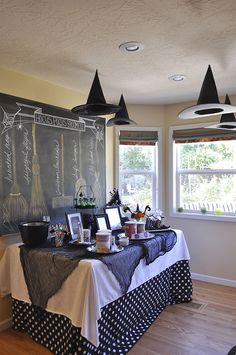Witch Halloween Party | YourHomebasedMom.com