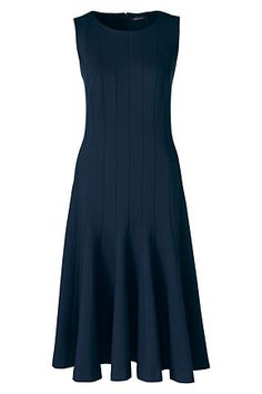 Women's Sleeveless Godet Dress