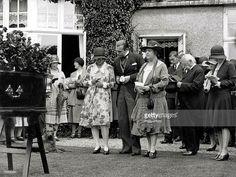 Funeral of Arthur Conan Doyle held #OTD 1930. Lady Conan Doyle (R), Adrian Conan Doyle, Jean Conan Doyle.