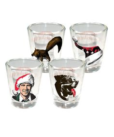 National Lampoon's Christmas Vacation Shot Glass Set