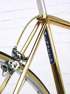 beautiful golden frame (via Gold Benotto : La Rueda Tropical)
