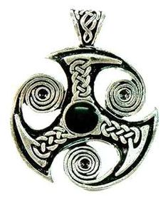 Spiral Triskele Trinity Celtic Jewelry Pewter pendant from Thailand ...