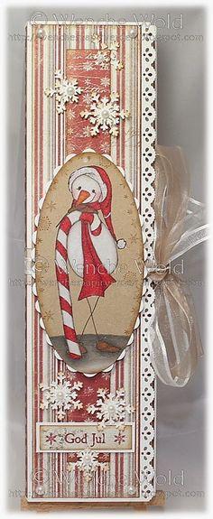 Wenches Kort og Papir: GD at Just Some Lines - Sjokoladekort Chocolate Card, Money Envelopes, Prismacolor, Digital Stamps, Candy Cane, Advent Calendar, Snowman, Christmas Cards, Card Making