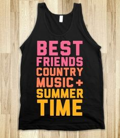 Country concerts!