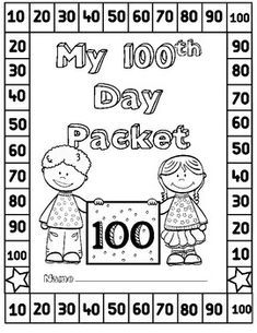 FREE 100th Day Activities