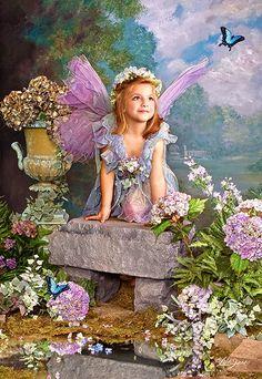 """Spring Angel"" Lisa Jane"