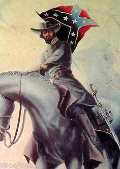 Civil-War-Cavalry-Print-Gen-Nathan-Bedford-Forrest-TN-James-Thomas-Neumann