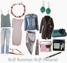 expressing your truth closet: You are Soft Summer!