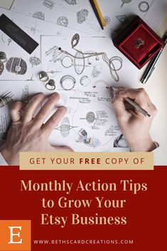 780d8e150af51 Get your free copy of my Monthly Action Tips to Grow Your Etsy Business by  signing