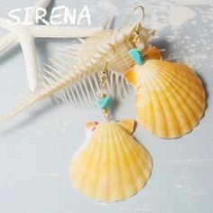 ↞real shell pierce↠ by sirena アクセサリー ピアス