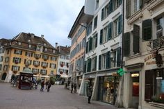 Solothurn All Pictures, More Photos, The Number 11, Visit Venice, Most Beautiful Cities, Back In Time, Switzerland, Wander, Cathedral