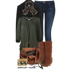 Tunic & Boots, created by amo-iste on Polyvore