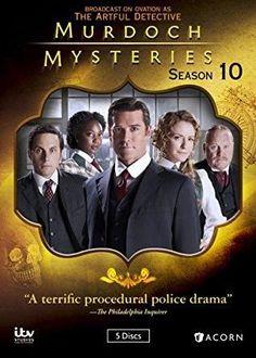Yannick Bisson & Hélène Joy & Gary Harvey-Murdoch Mysteries: Season 10