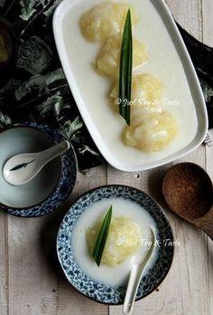 Thai Recipes, Asian Recipes, Snack Recipes, Dessert Recipes, Cooking Recipes, Snacks, Indonesian Desserts, Asian Desserts, Indonesian Food