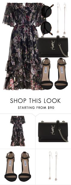 """Untitled #6939"" by laurenmboot ❤ liked on Polyvore featuring Zimmermann, Yves Saint Laurent and Steve Madden"