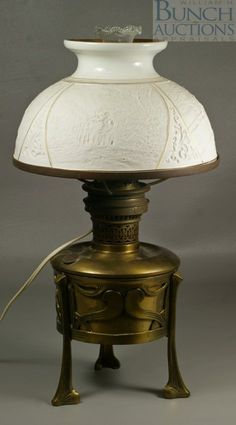 c1880 lithophane lamp shade, 9d, 12-1.