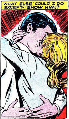 Vintage Comic, Pop Art ~ Sometimes you've just gotta show him