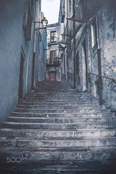 stairs - Game of Thrones Filming locations , season six. Girona, Spain