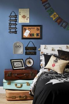 Fine Deco De Chambre Harry Potter that you must know, You?re in good company if you?re looking for Deco De Chambre Harry Potter Bedroom Decor For Couples, Bedroom Themes, Kids Bedroom, Décoration Harry Potter, Harry Potter Nursery, My New Room, My Room, Primark Home, Harry Potter Aesthetic