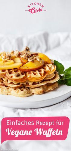 Healthy Eating Tips, Healthy Nutrition, Frozen Banana Recipes, Waffel Vegan, Low Carb Recipes, Vegan Recipes, Brunch, Banana Bites, Ferrero Rocher