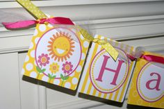 Happy Birthday Banner, $30.00