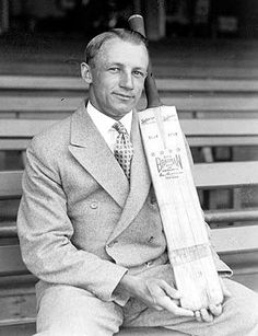 """***Sir Donald George Bradman, AC August 1908 – 25 February often referred to as """"The Don"""", was an Australian international cricketer, widely acknowledged as the greatest batsman of all time; **Some of the records still held by Bradman : - Sydney Cricket Ground, Test Cricket, Cricket Videos, Cricket Sport, Batting Average, World Cricket, Star Wars, Sports Stars, Poses"""