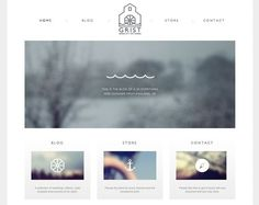 Clean, simple web design in Web