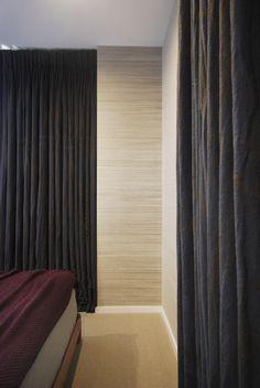 Thick curtains create a luxurious boutique hotel feel. www.ninamaklin.com
